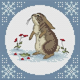 free cross stitch patterns -  A Little Rabbit - www.crossstitchclub.com - 1