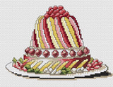 free cross stitch patterns -  Party Cake - www.crossstitchclub.com - 1