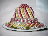 free cross stitch patterns -  Party Cake - www.crossstitchclub.com - 2