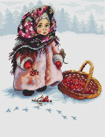 free cross stitch patterns -  Russian Winter - www.crossstitchclub.com - 1