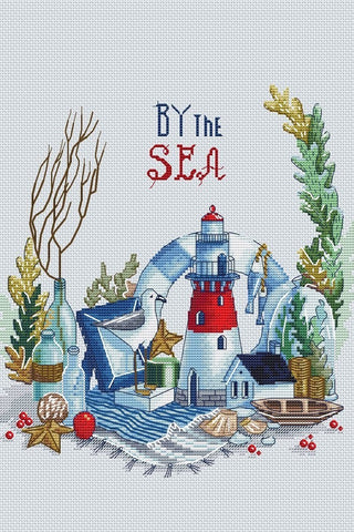 free cross stitch patterns -  Sea Feeling - www.crossstitchclub.com - 1