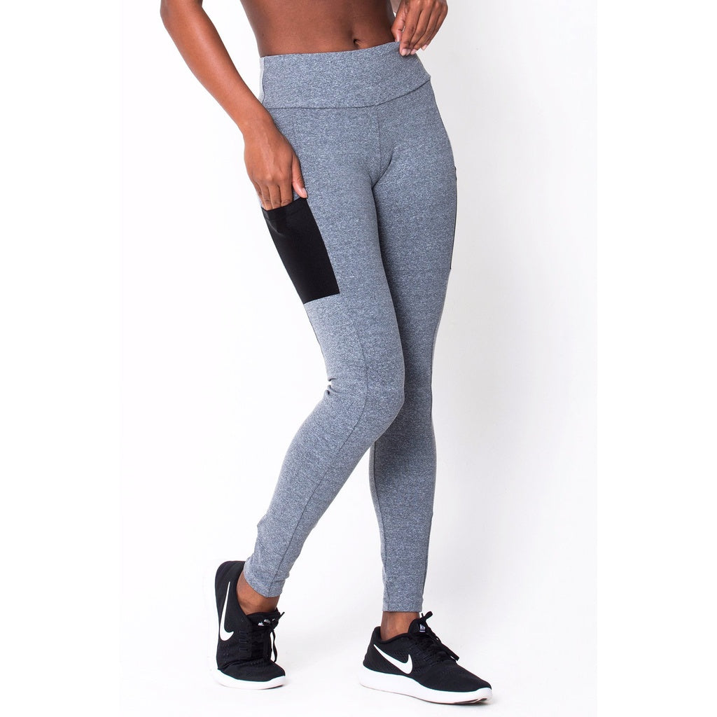 Heather Grey Work It Legging - Stylishme