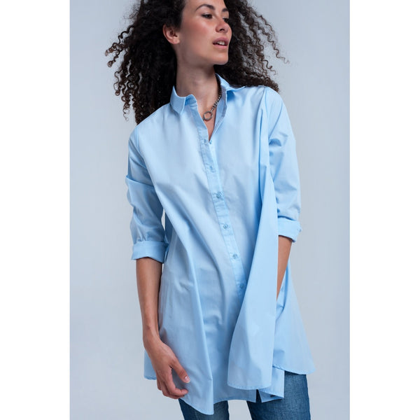 Light blue tunic - Stylishme