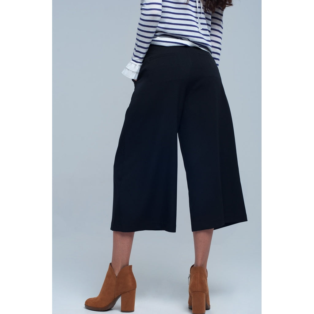 Culotte in black - Stylishme