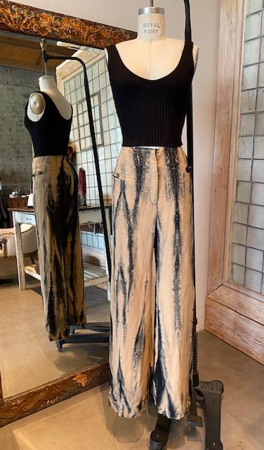Alessandra Marchi Painted Pants