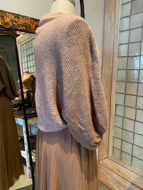 Louiza Babouryan Ombre Wool Shrug