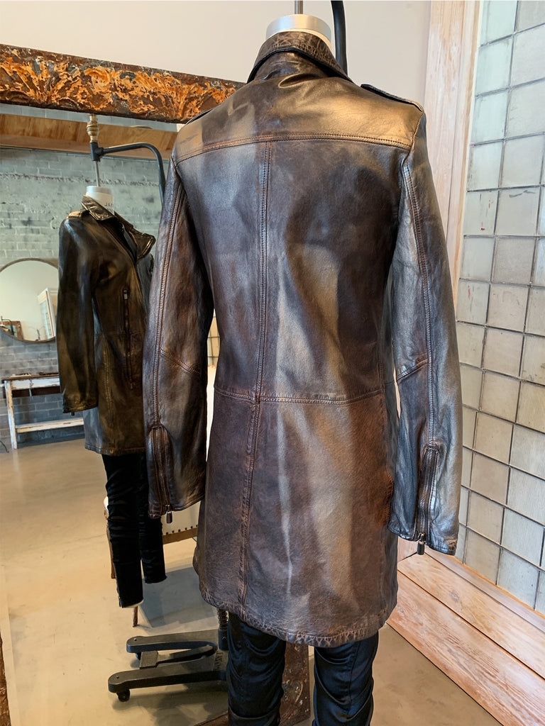 Numero 10 Modigliani Leather Jacket