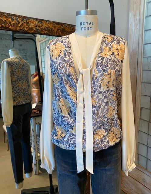 Tendresses Floral Blouse