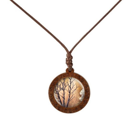 Trunk of a Tree Necklace