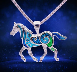 Horse Necklace (2 Color Styles)