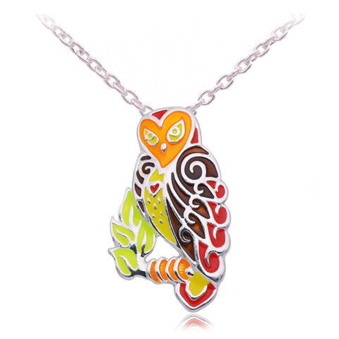 Owl Necklace (2 Color Styles)