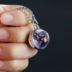 Meteor Shower Silver Plated Necklace