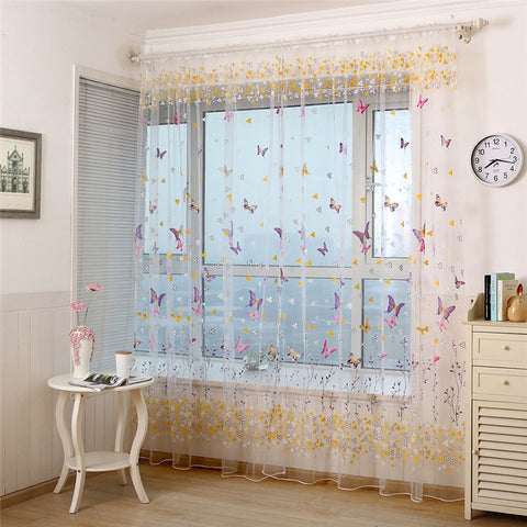 Beautiful Butterfly Curtains