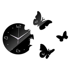Butterfly Wall Watch