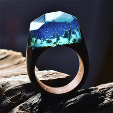 Wood World Handcrafted Rings