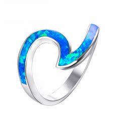 Free Opal Wave Ring