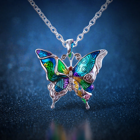 Free Butterfly Necklace