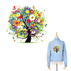 Free Tree Sticker for Clothes