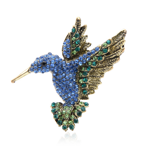 Free Blue Bird Brooch