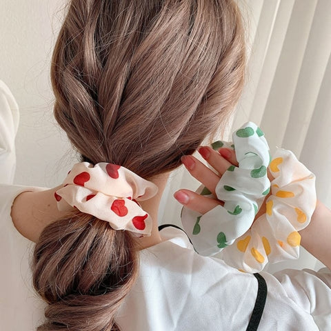 4 pieces Scrunchies Mix #10