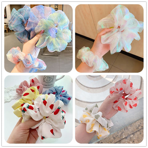 4 pieces Scrunchies Mix #24