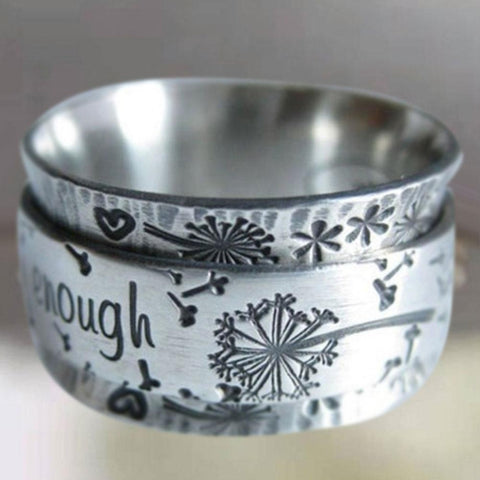 """I Am Enough"" Ring"