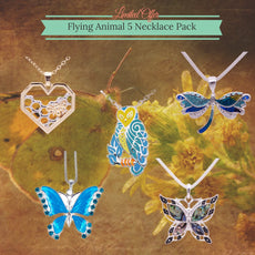 Flying Animal 5 Necklace Pack