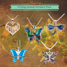 5 Flying Animal Necklace Pack