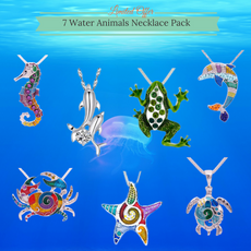 Wholesale 7 Water Animal Necklace Pack