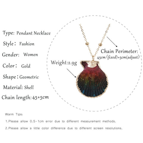 Dark St Jacques Necklace