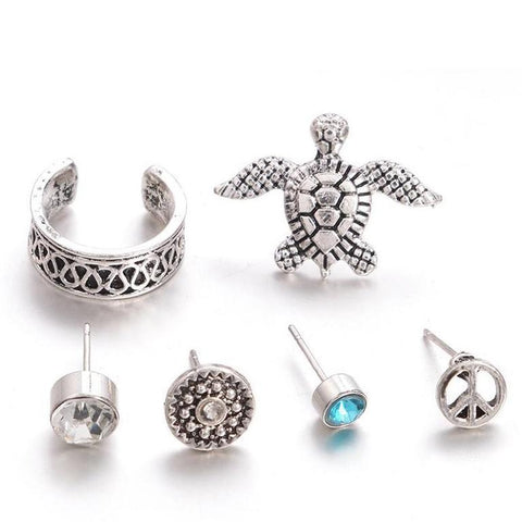 Earrings Set (6 Pcs/set)