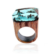 """Misty World"" Ring"