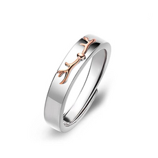 Deer Love Ring