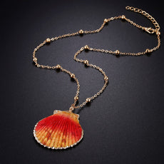 Orange St Jacques Necklace