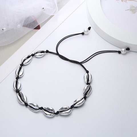 Shell black Choker