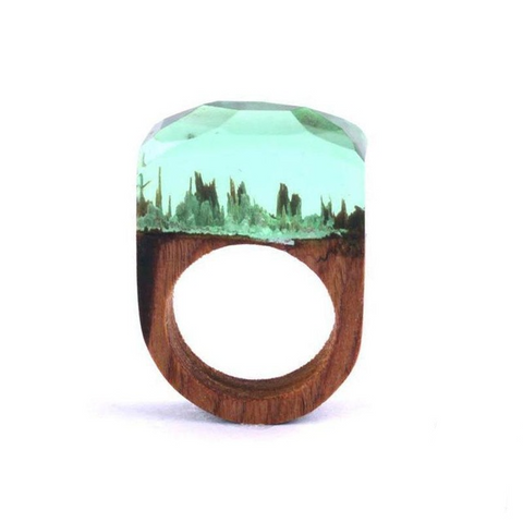 """The Green World"" Ring"