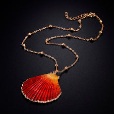 St Jacques Orange Necklace