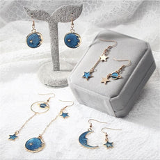 """Blue Love"" Earrings (9 Variants inside)"