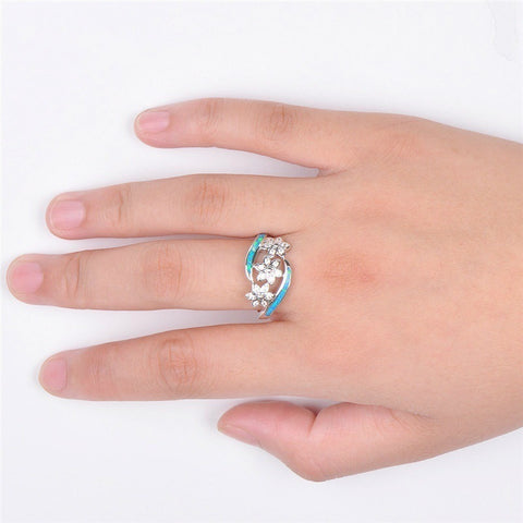 Free Blossoms Flower Ring