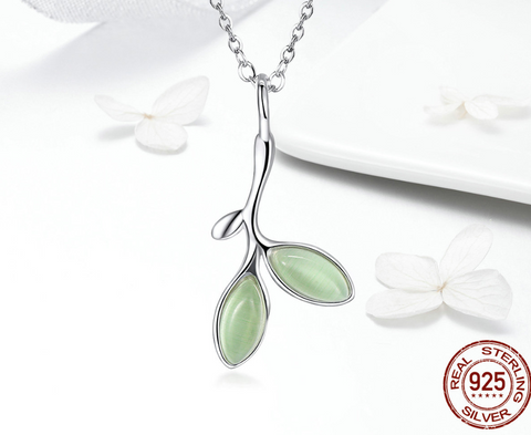 Soft Leaf Necklace