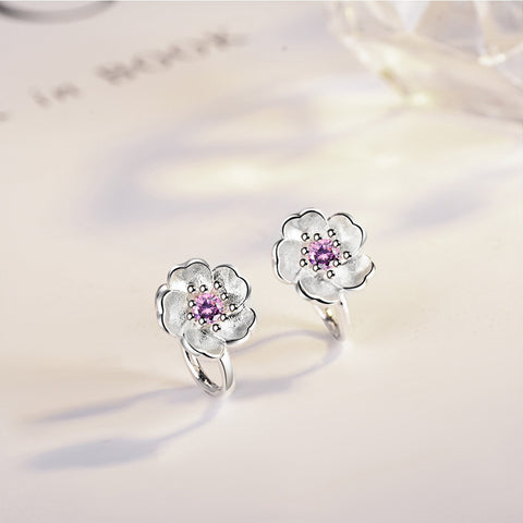Free Cherry Tree Flower Earrings