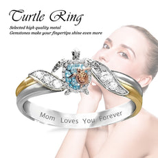 """My Turtle Family"" Ring"