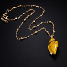 Gold Yellow Necklace