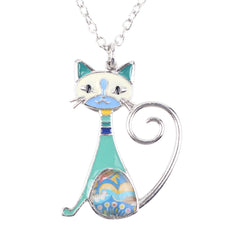 Frisky Cat Necklace