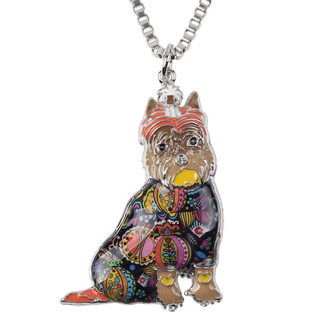 Free Friendly Schnauzer  Necklace