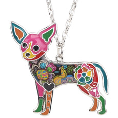 Free Cheerful Chihuahua Necklace