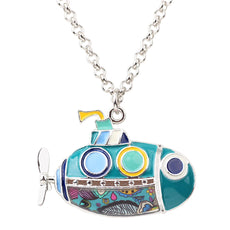 Multicolor Fun Submarine Necklace