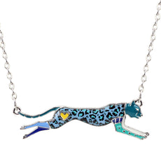 Multicolor Leopard Necklace
