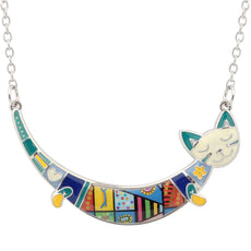Joyful Cat Necklace