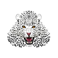 Free Cheetah Sticker for Clothes